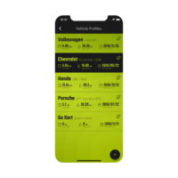 Fuel Usage Tracker Smartphone App