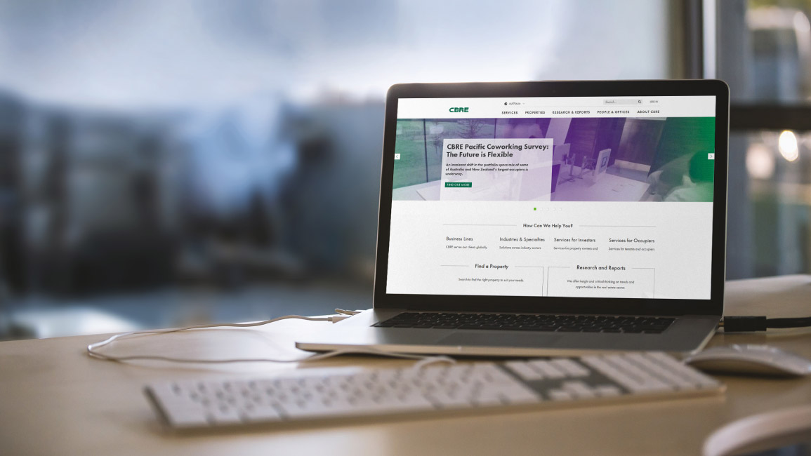 CBRE Asia Pacific Corporate Websites