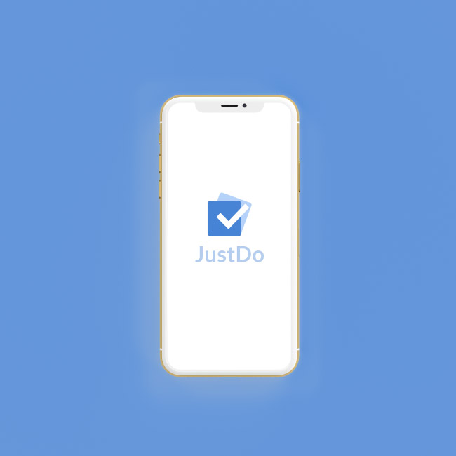 JustDo iOS (Swift) Smartphone App