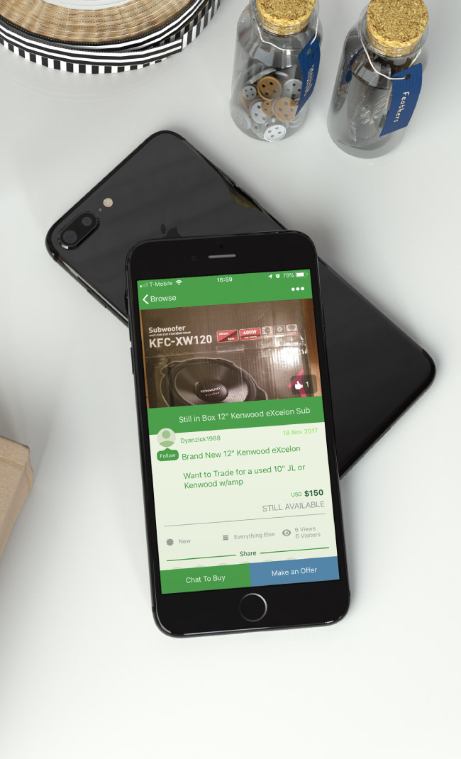 Swapit Pre-Loved Items Marketplace for Smartphones